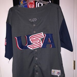 2017 Olympic USA team Alex Bregman jersey